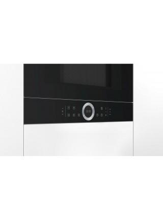 Вбудовувана мікрохвильова піч Bosch BFR634GB1 - 21л./900Ватт/TFT дисплей/чорний