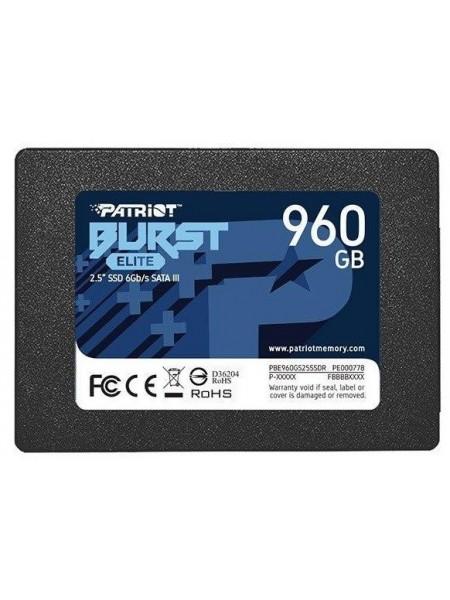 """Накопичувач 2.5"""" SSD 960GB PATRIOT PBE960GS25SSDR"""