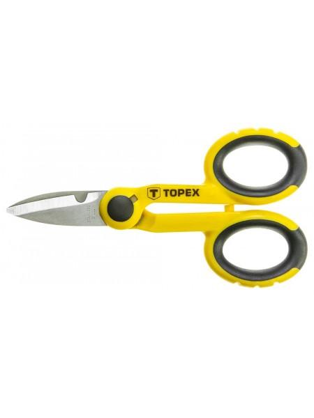 Ножиці TOPEX 140 мм (32D413)