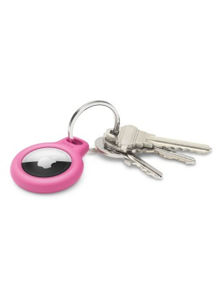 Тримач Belkin Secure Holder with Key Ring AirTag, pink (F8W973BTPNK)