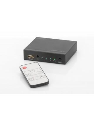 Відеокомутатор DIGITUS HDMI (INx3 - OUTx1),4K (DS-48304)