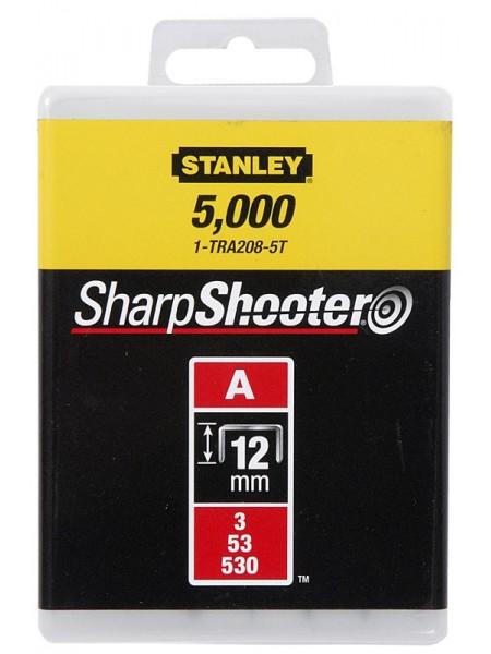 """Скоби Stanley """"Light Duty"""", тип А, 12х11.3мм, 1000шт"""