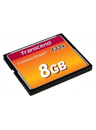 Карта пам'яті Transcend 8GB CF 133X (TS8GCF133)