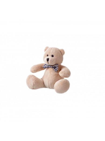М'яка іграшка Same Toy Ведмедик бежевий 13см THT674