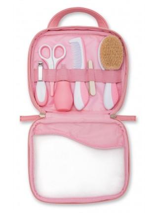 Набір по догляду за дитиною Nuvita Великий 0м+ рожевий NV1146PINK