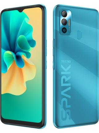 Смартфон TECNO Spark 7 (KF6n) 4/128Gb NFC Dual SIM Morpheus Blue