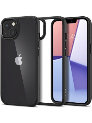 Чохол Spigen для Apple iPhone 13 Crystal Hybrid, Matte Black