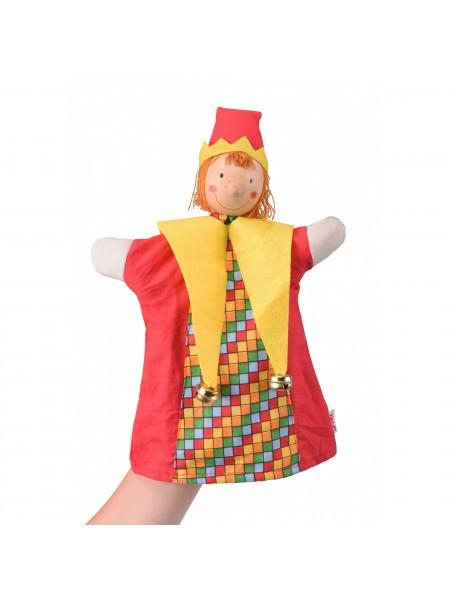 Лялька-рукавичка goki Блазень 51650G
