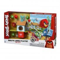 Angry Birds Игровая фигурка ANB Medium Playset (Pig City Build 'n Launch Playset)