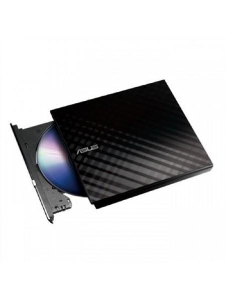 Привід ASUS SDRW-08D2S-U LITE DVD+-R/RW USB2.0 EXT Ret Slim Black (SDRW-08D2S-U_LITE/BLK)