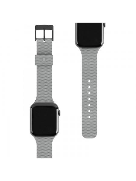 Ремінець UAG [U] для Apple Watch 44/42 Dot Silicone, Grey (19249K313030)