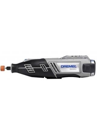 Шліфувально-гравірувальна машина Dremel 8220-1/5, акумуляторна, 12В, 2Ah, 5000-35000об/хв, 5 насадок