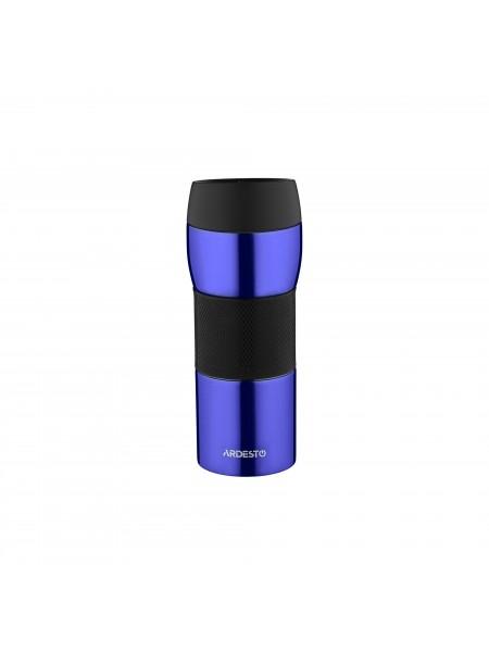 Термокухоль Easy travel S Ardesto 450 мл, синій, силікон,нержавіюча сталь (AR2645STB)