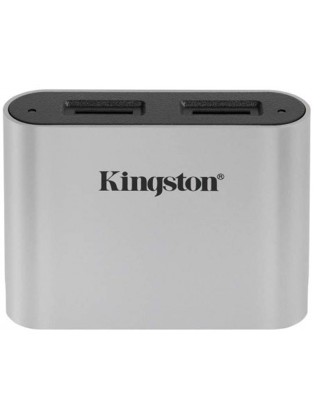 Кардрiдер Kingston Workflow Dual-Slot microSDHC/XC UHS-II Card Reader (WFS-SDC)