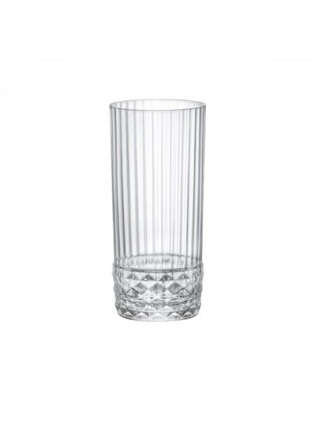 Набір склянок Bormioli Rocco AMERICA'20s COOLER вис., 6*490 мл