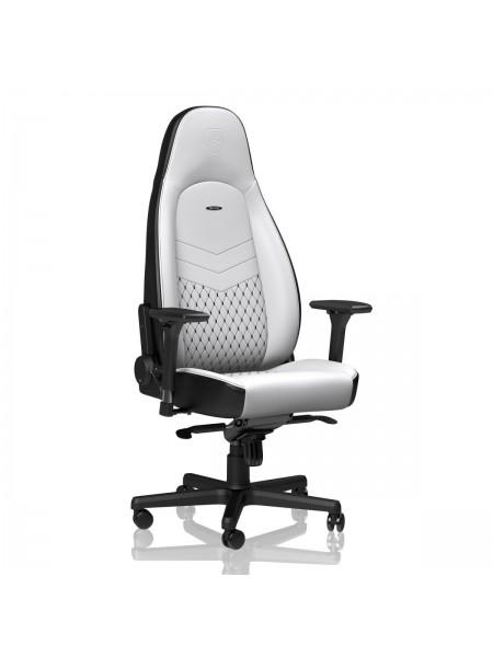 Крісло геймерське Noblechairs ICON White/Black (NBL-ICN-PU-WBK)