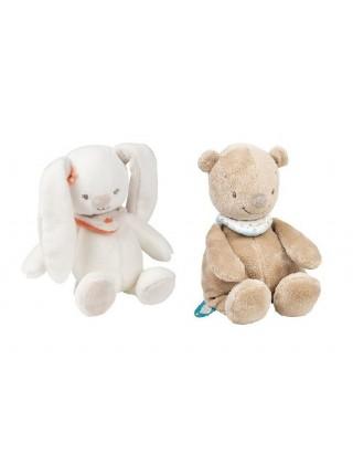 Міа і Базиль - Іграшка в асортименті (6 кроликів/6 ведмедиків)