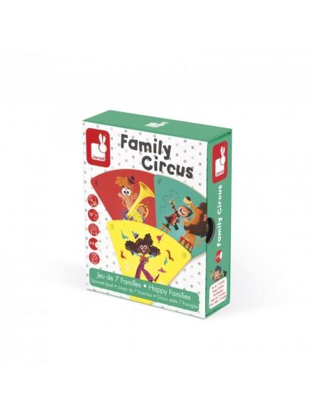 Настільна гра Janod Happy Families Цирк J02755