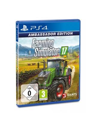 Програмний продукт на BD диску PS4 Farming Simulator 17 Ambassador Edition [Blu-Ray диск]