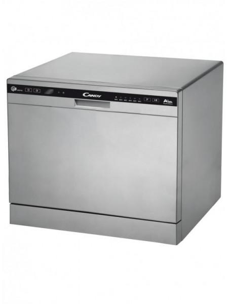 Посудомийна машина Candy CDCP 8/ES /А+/55см/8 компл./6 программ/конденсацiйний/Дисплей/Срiблястий
