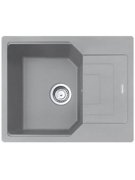 Кухонні мийки Franke Urban UBG 611-62 /114.0574.955/фраграніт/з крилом/620х500 х220/сірий камінь