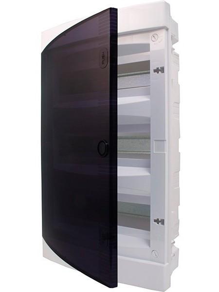 Щит внутрішній розподільний ETI ECT 12PT, 12 модулів прозорі дверцята