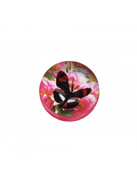 М'ячик-стрибунець goki Метелик чорно-червоний 16019G-5