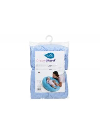 Аксесуар для подушки Nuvita DreamWizard (чохол) Блакитний NV7104Blue