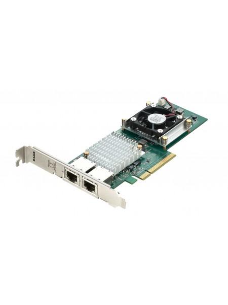 Мережевий адаптер D-Link DXE-820T 2x10GE, PCI Express