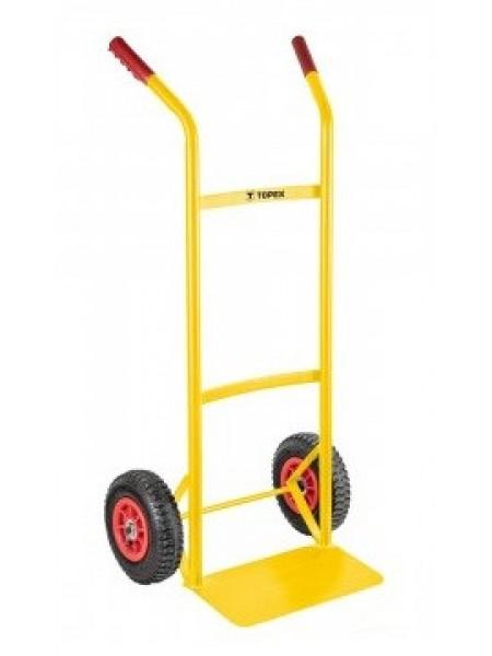 Візок вантажний TOPEX (Млинарка), вантажопідйомність 120 кг, 350x185мм, 5.5кг (79R305)