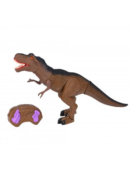 Динозавр Same Toy Dinosaur Planet Тиранозавр коричневий (світло, звук) RS6123AUt