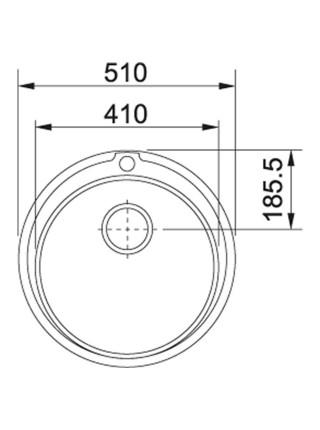 Кухонні мийки Franke Ronda ROL 610-41 /101.0255.788/