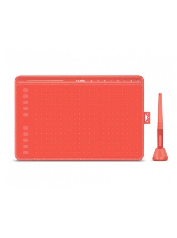 Huion Графический планшет Huion HS611 Coral red