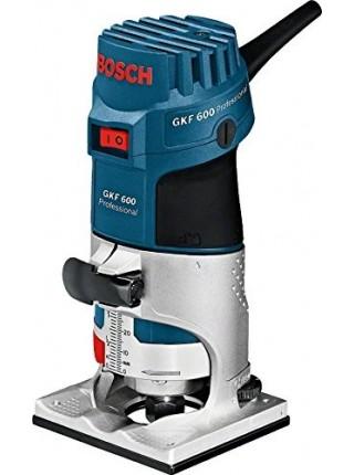 Фрезер Bosch GKF 600, 600Вт, 33000 об/хв, патрон 6/8 мм, 0.89 кг (0.601.60A.100)