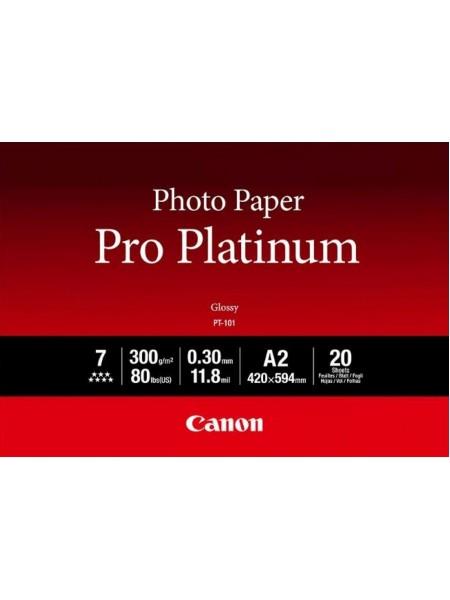 Папiр Canon A2 Pro Platinum Photo Paper PT-101 A2 20 арк (2768B067)
