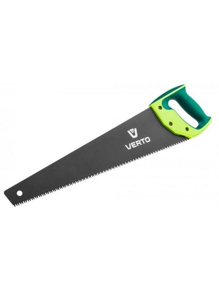 Ножівка VERTO по дереву, з тефлоновим покриттям, чохол (15G102)