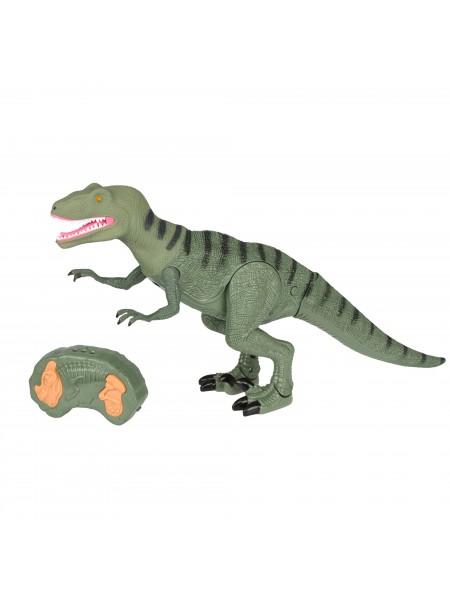 Динозавр Same Toy Dinosaur Planet Тиранозавр зелений (світло, звук) RS6126AUt