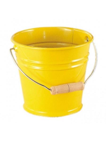 Відро металеве nic жовте NIC535057