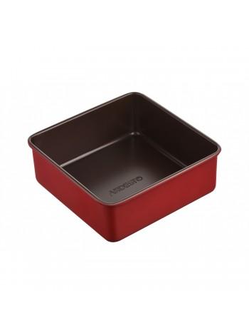 Форма для випікання Ardesto Golden Brown квадр. 21,9*7,9 см, сірий,голубий, вуглецева сталь (AR2403R