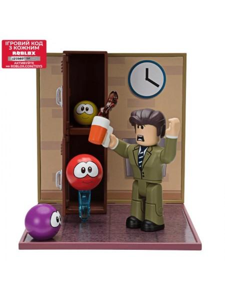 Ігрова колекційна фігурка Jazwares Roblox Desktop Series Meep City: Principal Panic W6