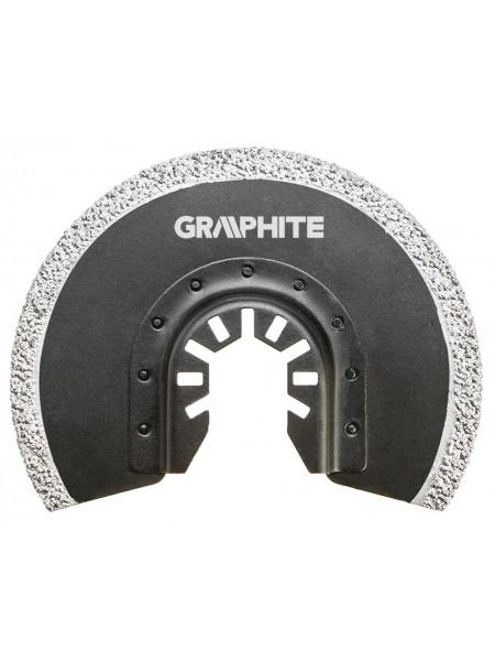Коло GRAPHITE домногофункц.інструменту, напівкруглий HM - вольфрамовое напилення, по кераміці, D 8