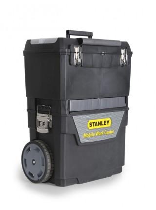 """Ящик для інструменту Stanley """"2 в 1"""", з колесами, 47.3х30.2х62.7см (1-93-968)"""
