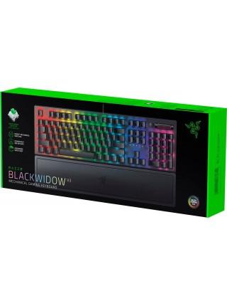 Клавіатура ігрова RAZER BlackWidow V3 Yellow Switch USB RU RGB, Black