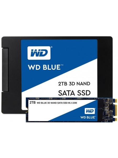 """Твердотільний накопичувач SSD 2.5"""" WD Blue 250GB SATA TLC"""