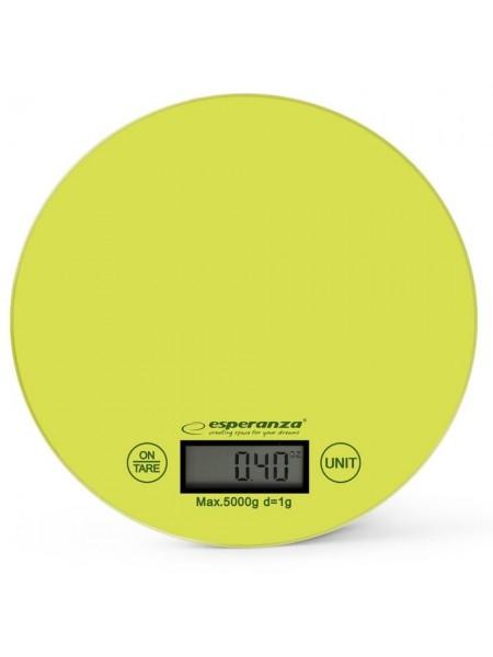 Ваги кухонні Esperanza Scales EKS003G Green