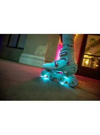Ролики Neon Inline Skates Бірюзовий (Розмір 34-38)