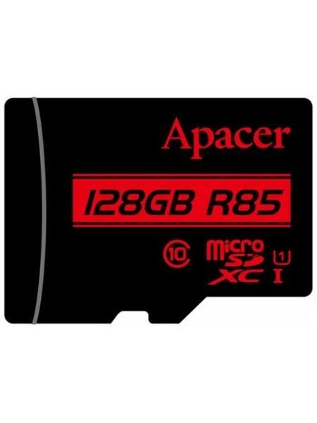 Карта пам'яті Apacer 128GB microSDHC C10 UHS-I R85MB/s + SD