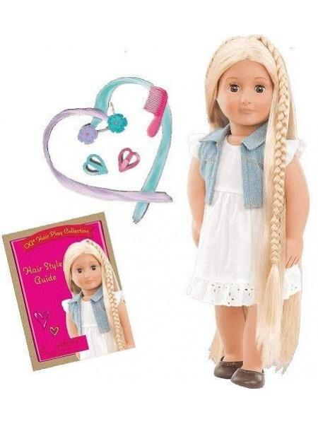 Лялька Our Generation Фібі з довгим волоссям блонд 46 см BD31055Z