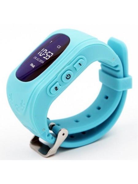 Дитячий GPS годинник-телефон GOGPS ME K50 Бірюзовий (K50TR)
