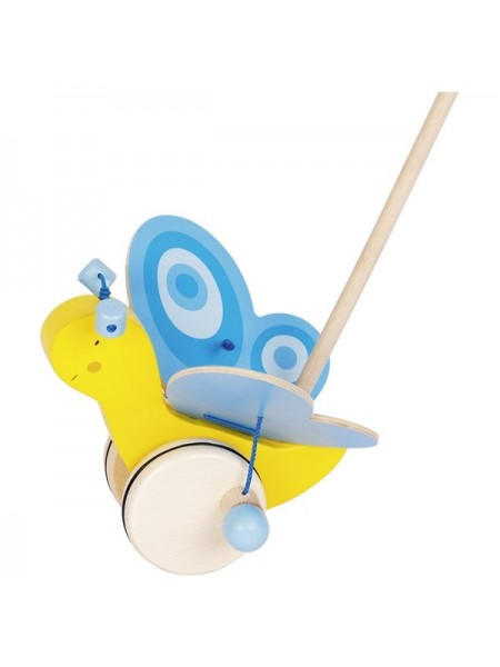 Іграшка-штовхач goki Метелик 54995G